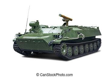 army., service, strid, storm-s, isolerat, ptrk, bakgrund, fordon, rysk, vit