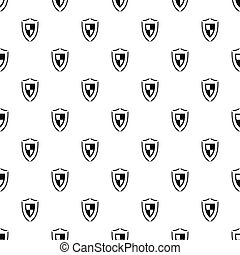 Army shield pattern, simple style
