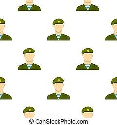 Army soldier pattern flat - Army soldier pattern seamless...