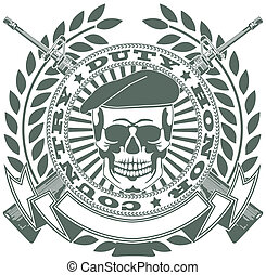 Army symbol - The vector image Army symbol