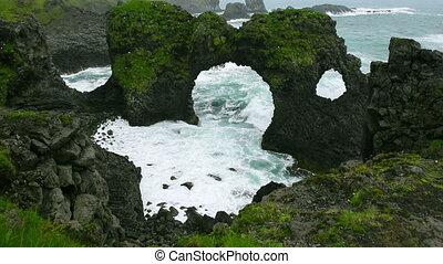 Arnarstapi Arch in Iceland