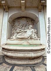 Arno Fountain in Rome