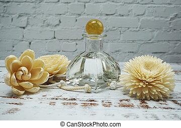 aroma, fragancia, freshener, hogar, difusor, caña