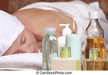 aroma, masaje