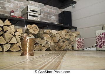 Aromastic Stick In Living Room