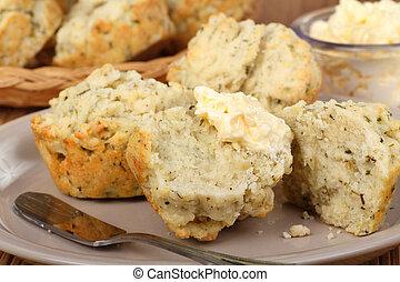 aromate, biscuits, closeup
