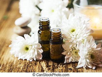aromathérapie, huiles