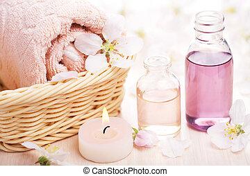 aromathérapie, spa