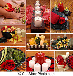 aromatheraphy, collage