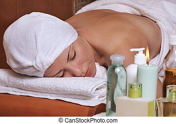 Aromatherapies - Scented candles, oils, lotions creams and...