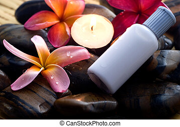 Aromatherapy and spa relaxation
