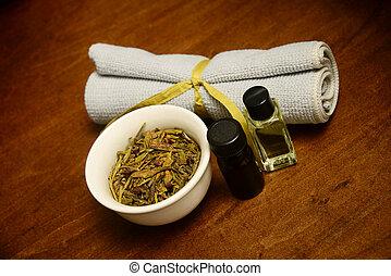 aromatherapy beauty treatment