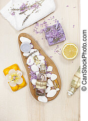 aromatherapy, citroen, lavendel