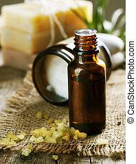 aromatherapy., essence., behandeling, spa