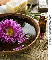 Aromatherapy. Essential Oil. Spa Treatment
