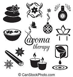 aromatherapy, ikonok
