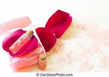 Aromatherapy items set