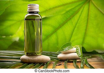 Aromatherapy. - Masage body oil.