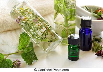 aromatherapy, natuurlijke