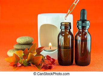 aromatherapy olie, essentieel