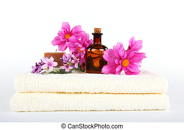 aromatherapy olie, masseren