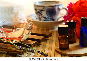 aromatherapy, salon, behandeling