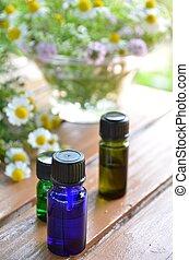 aromatherapy, wezenlijke olies