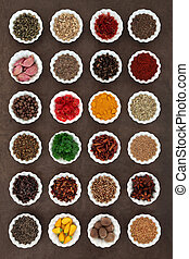 Aromatic Spices and Herbs