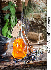 Aromatic tincture as an alternative cure