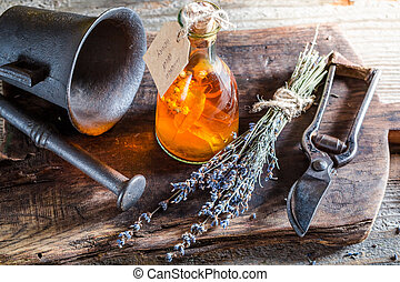 Aromatic tincture as homemade cure