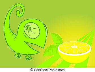 aromatizzare, limone