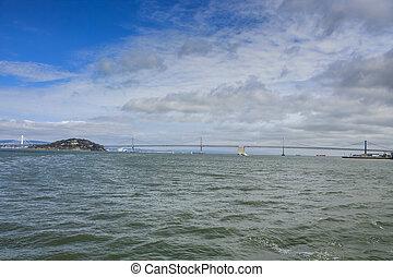 around San Francisco, California, USA
