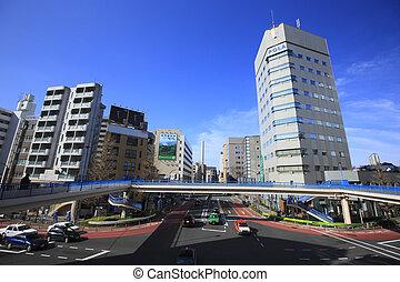 Around Shibuya bashi in Ebisu area