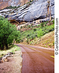 Around the Bend at Zion