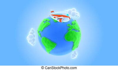 Around the world/ Aero version