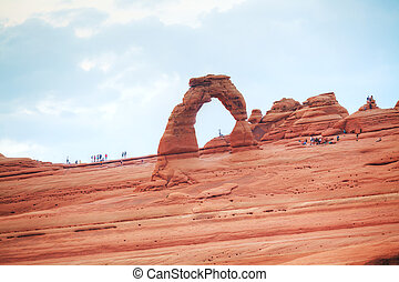 arquée parque nacional, arcos, delicado