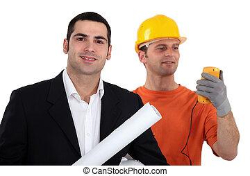 arquitecto, electricista