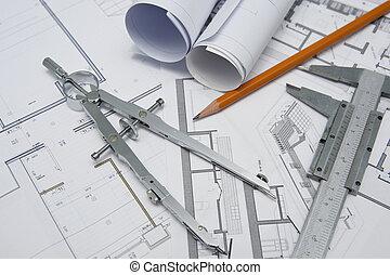 arquitecto, herramientas