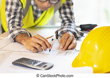arquitecto, trabajo encendido, blueprint.engineer,...