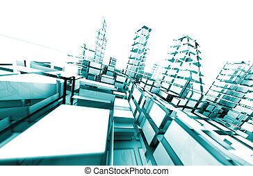 arquitectura, abstract.