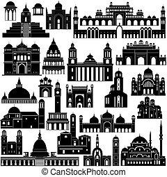arquitectura, asia