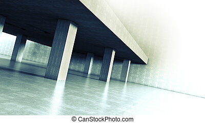 arquitectura, cemento