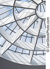 arquitectura moderna, detalle
