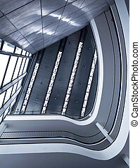 arquitectura moderna, edificio