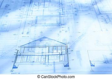 arquitectura, papeleo