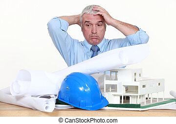 arquiteta, desesperado