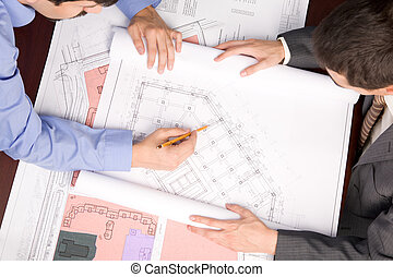 arquitetos, ocupação