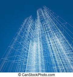 arquitetura, abstratos