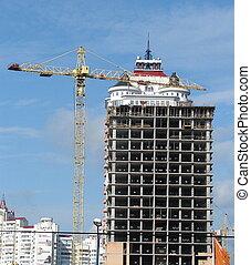 arquitetura, construção, 01
