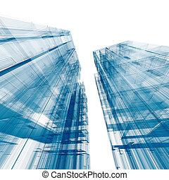 arquitetura, construção